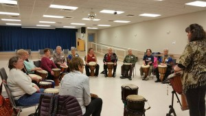 Pic of KALS course Feb 5th 2016 Drum Fun with Raven